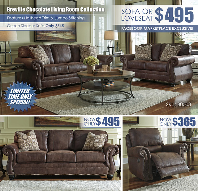 Breville Chocolate Your Choice Sofa Loveseat Sleeper Recliner Layout_80003