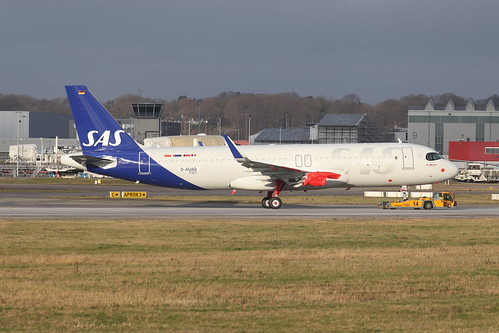 A320neo SAS Scandinavian AirlinesSE- ROZ | by XFW-Spotter