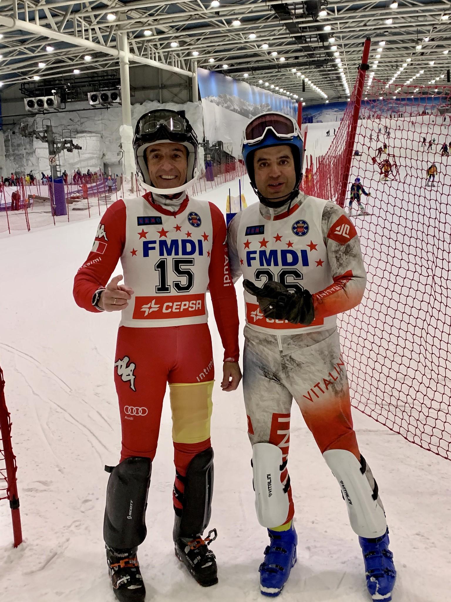 Nacho Correa y Luis Bobillo