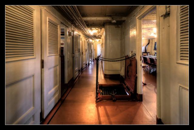 Belfast NIR - HMS Caroline Floor 02