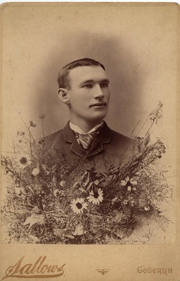 PB12 5Aa Sallows portrait of Frank Keegan c1890