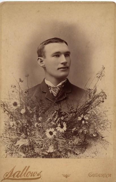 PB12 5Aa Sallows portrait of Frank Keegan c1890