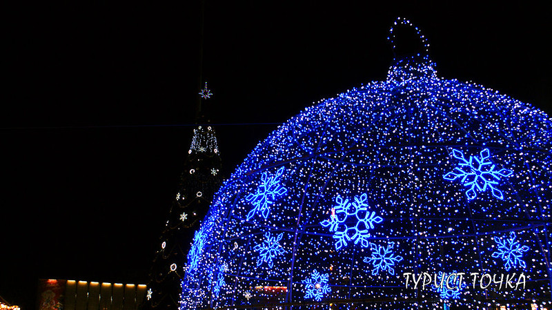 Новогодний Краснодар