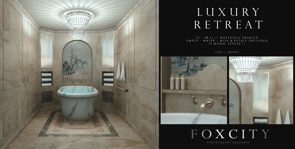 FOXCITY. Photo Booth – Luxury Retreat