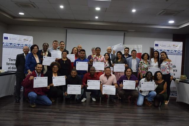 """Cierre del Proyecto """"Formadores para el Diálogo y la Construcción de Paz"""" Fase III"""