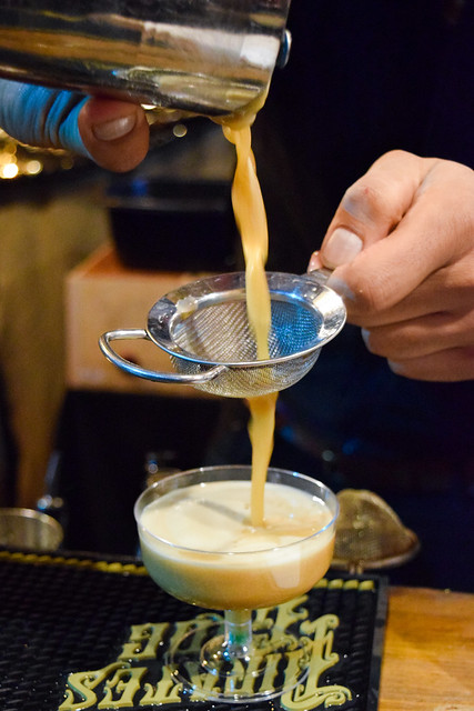 Pirate's Grog Mint Rum Expresso Martini at Taste of London, Winter 2019
