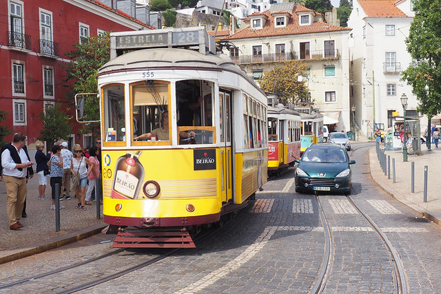 28 tram,Portas do Sol, Lisbon, Portugal