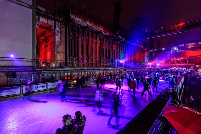 Ice Disco on Zollverein