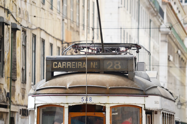28 tram, Lisbon, Portugal