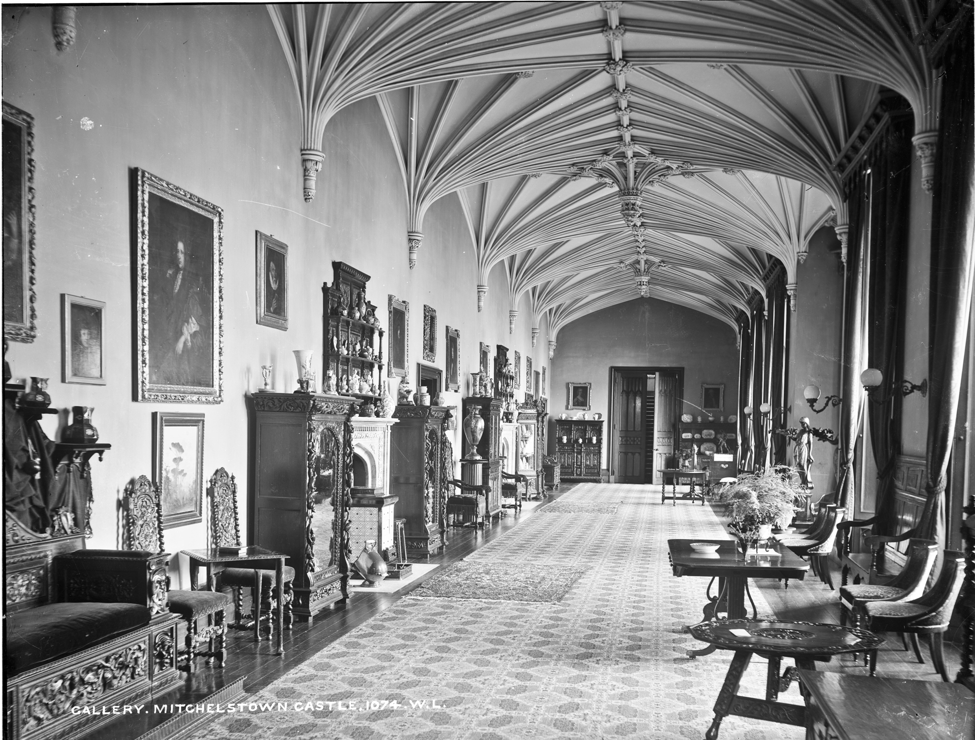 Gallery at Mitchelstown Castle, Cork