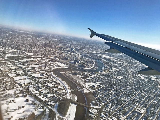 Downtown Indianapolis in the Distance