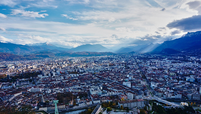 Grenoble from