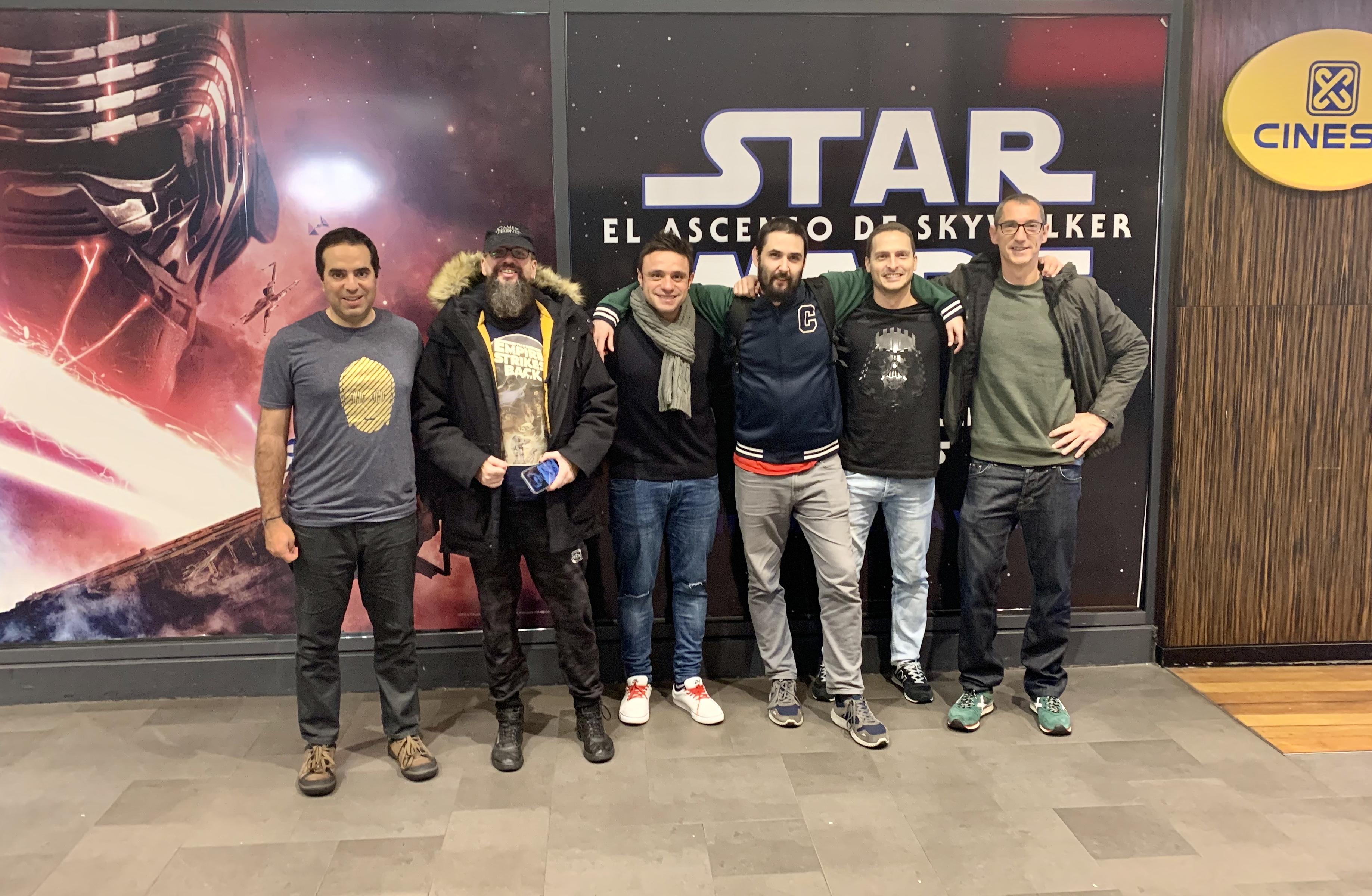 Viendo Star Wars