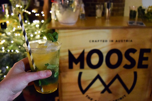 Moose Alpine Spirit at Taste of London, Winter 2019