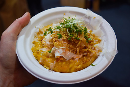 Burger & Lobster Butternut and Lobster Risotto at Taste of London, Winter 2019