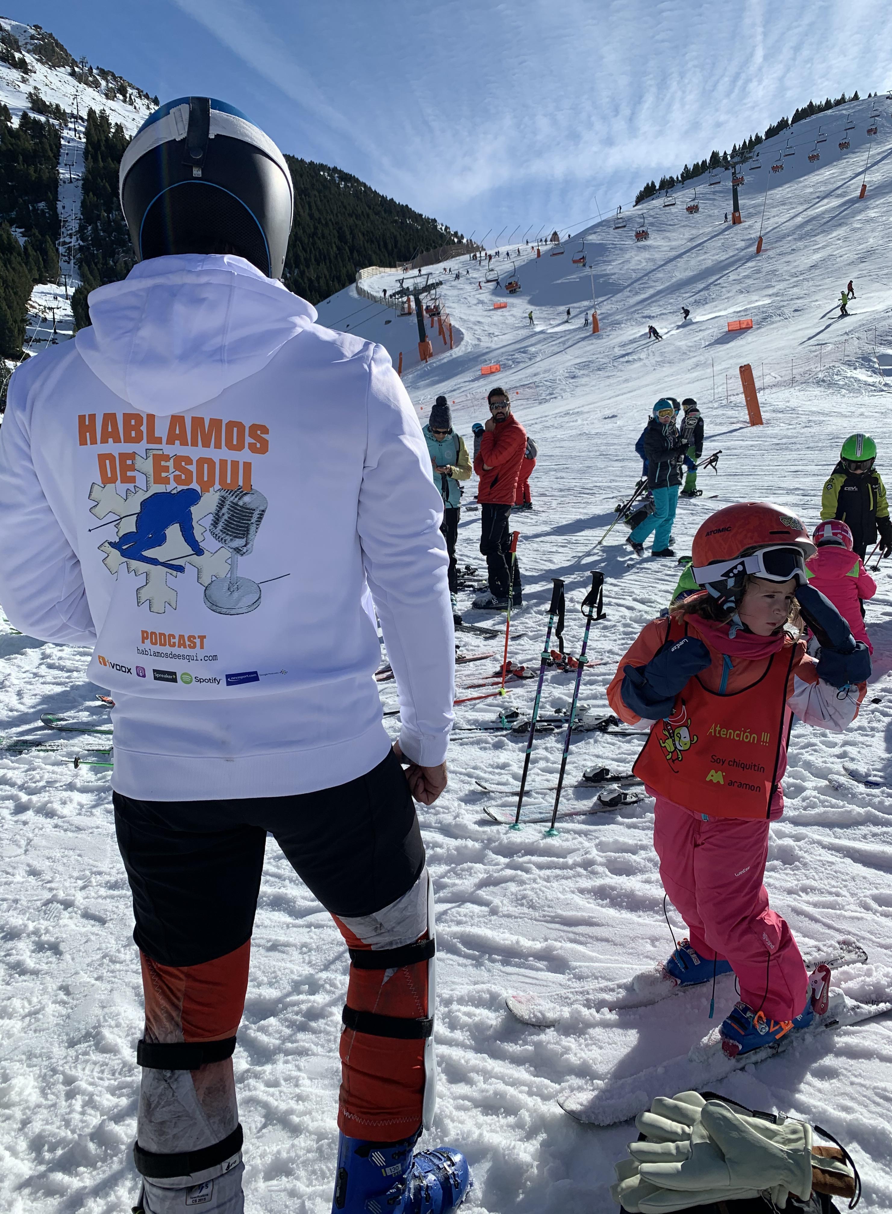 Sudadera de Hablamos de esquí