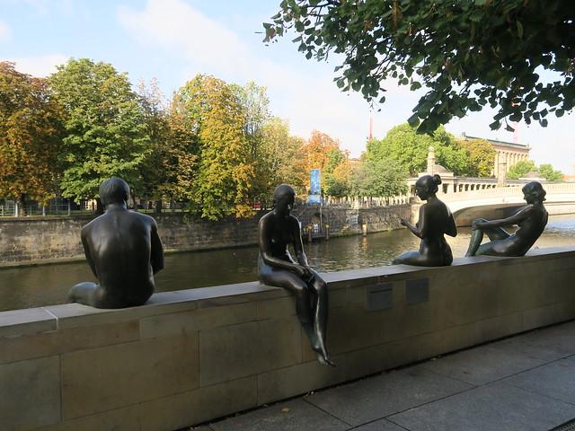 Drei Mädchen und ein Knabe,Trois filles et un garçon (1988), Wilfried Fitzenreiter, Berlin