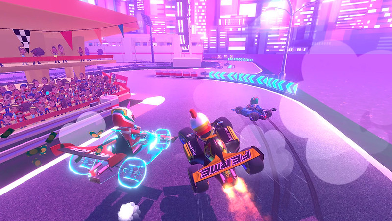 Touring Karts on PS VR