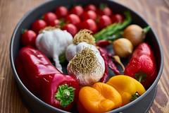 tomato-garlic-pepper-greens