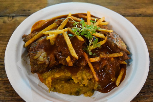Fazi Cafe Lamb Shoulder Rogan Josh at Taste of London, Winter 2019