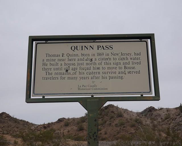 Quinn Pass Sign SR601672