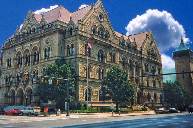 Columbus  Ohio - The United States Post Office and Courthouse - 1884–1887 - Architecture