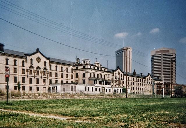 Ohio Columbus - Ohio State Penitentiary - Operated 1834-1984 - Demolished 1998