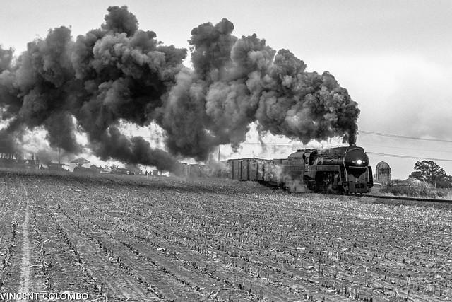 Smoke Clouds the Farmland