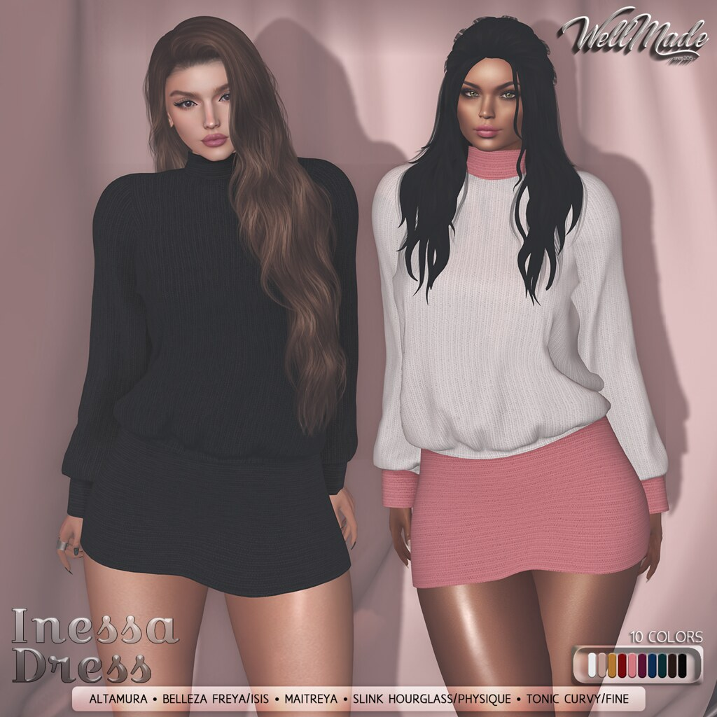[WellMade] Inessa Dress