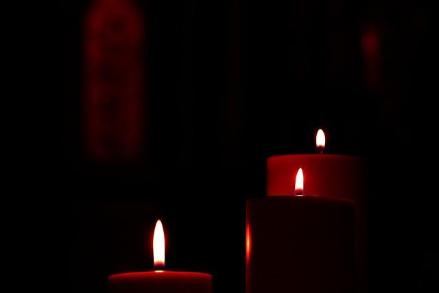 Perpignan Saint Jacques church candle