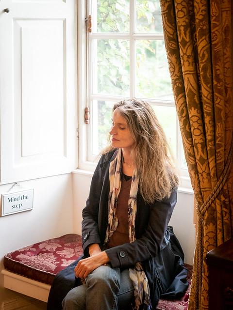 Mariëlle, Wiltshire 2019: Mind the step