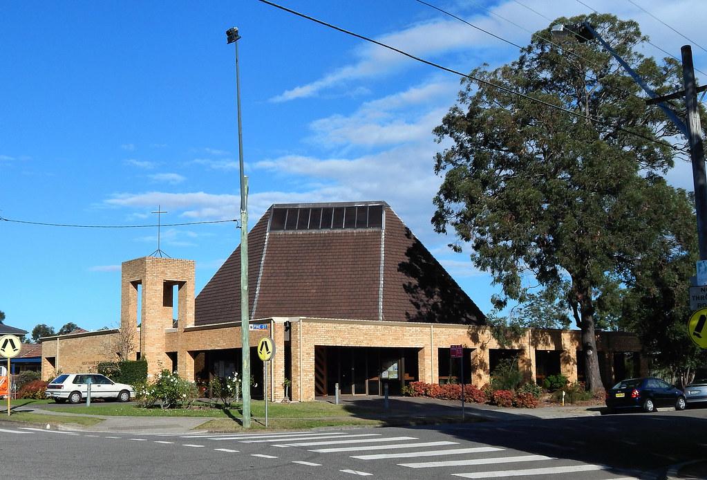 Holy Name of Mary Catholic Church, Rydalmere, Sydney, NSW.