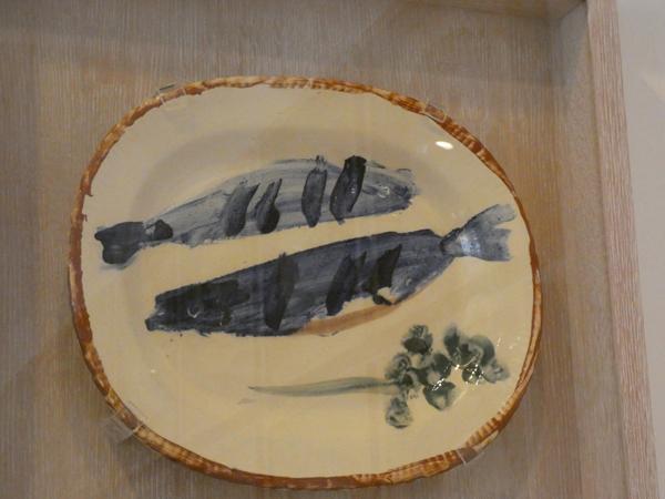 asiette aux poissons picasso
