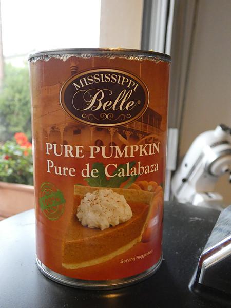 pure pumpkin puree