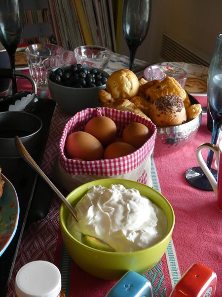 crème et oeufs