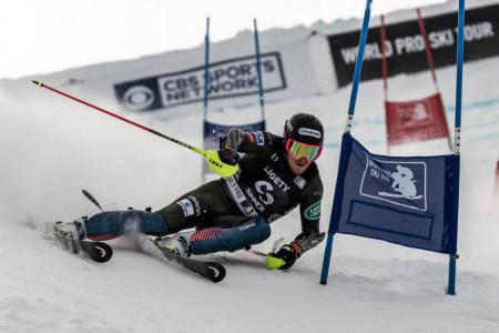 Ted Ligety v paralelních slalomech World Pro Ski Tour