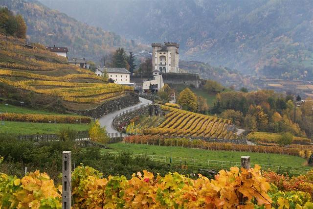 4 Novembre2018 - Val d'Aosta,  Castello di Aymaville