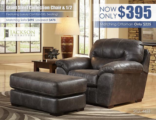 Grant Steel Chair & Half_Catnapper_Jackson_4453