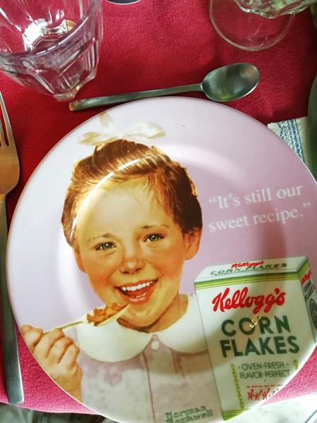 assiette pour les filles