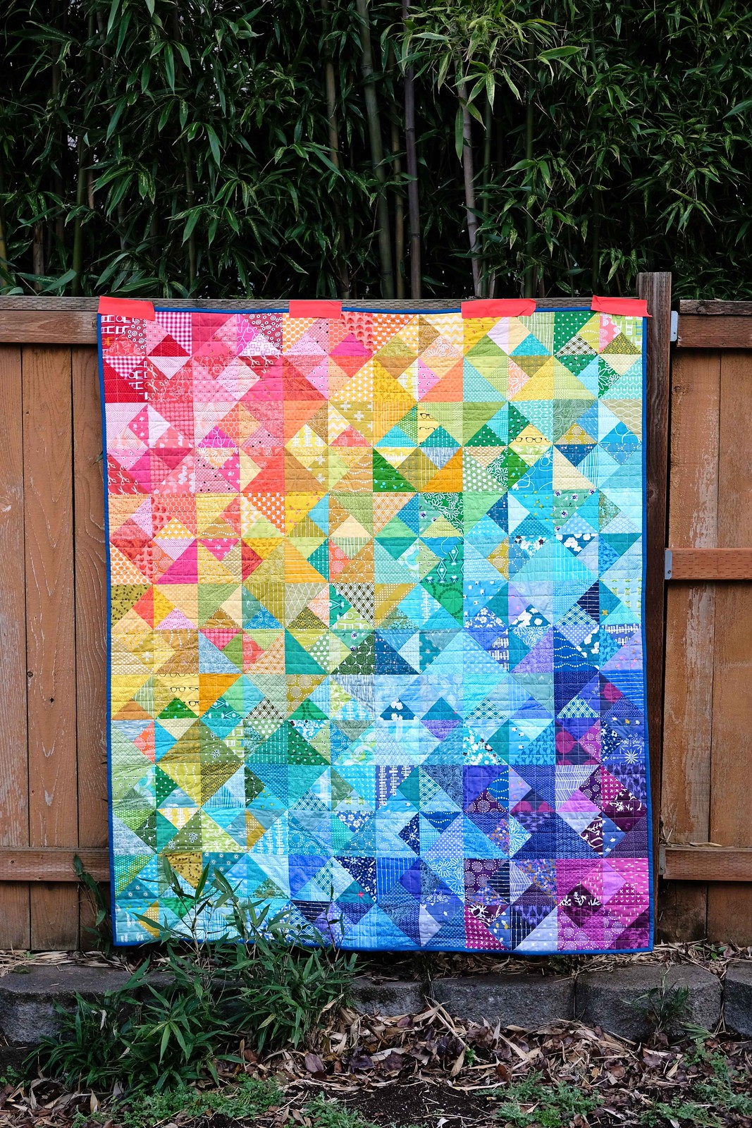 The Cleo Quilt, Rainbow Version - Kitchen Table Quilting
