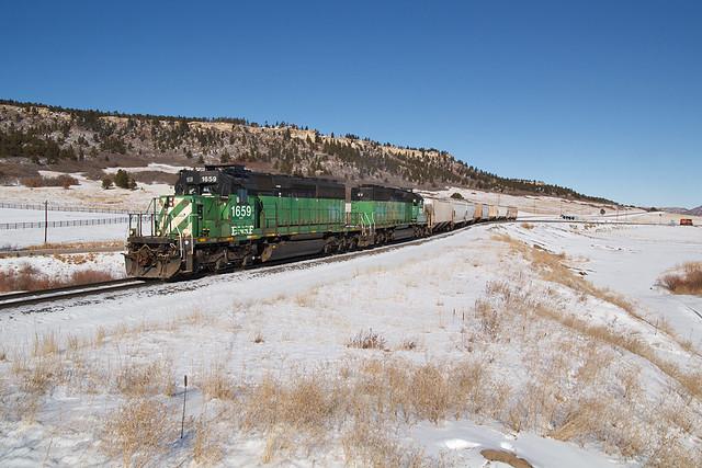 BNSF 1659 Spruce 30 Dec 19