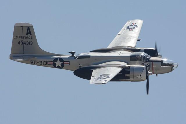 PoF_0534a Douglas B-26C Invader NL4313 434313 BC-313 Sweet Eloise II