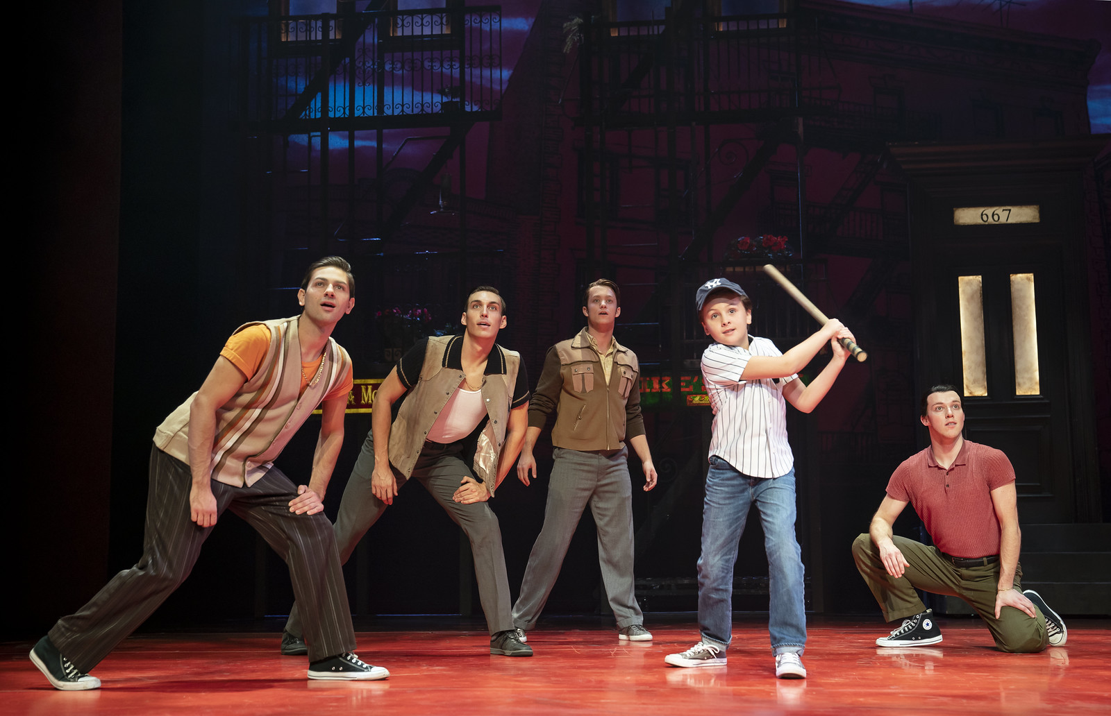 Broadway in Detroit: 'A Bronx Tale' at the Fisher Theatre (photo by Joan Marcus) - via Wading in Big Shoes