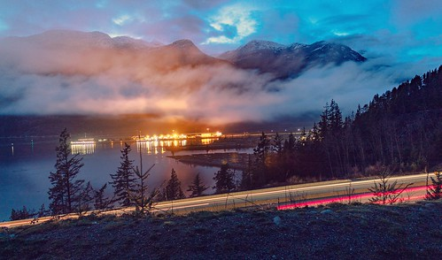 A night out in Squamish, BC.