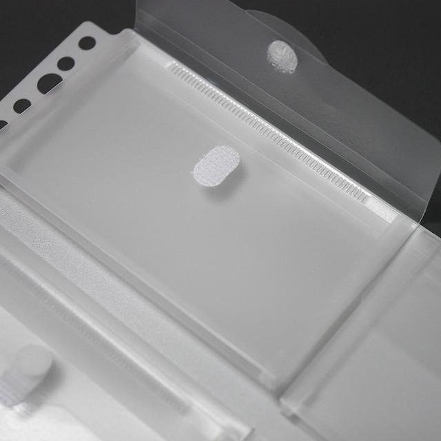 A4 30穴 ルーズリーフ用 ファイル ポケット リーフ ライオン ポッケ de 整理