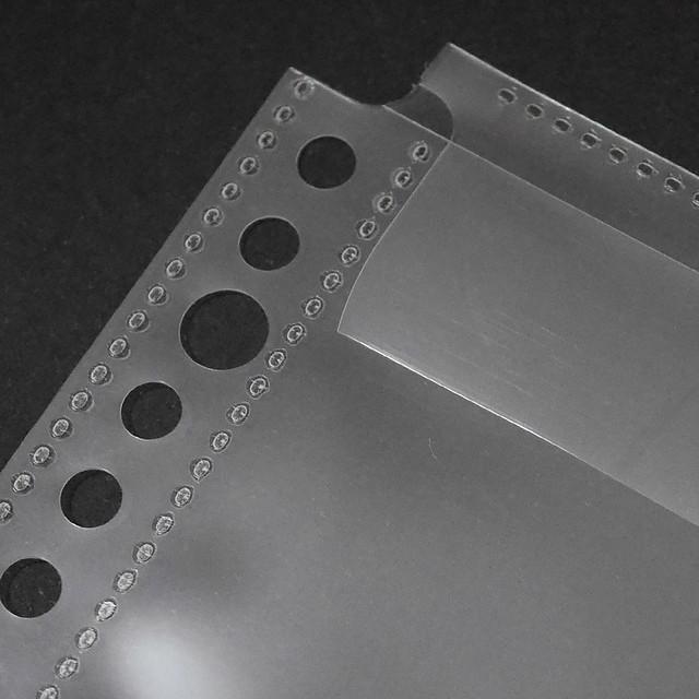 A4 30穴 ルーズリーフ用 ファイル ポケット リーフ アスクル モノイレリフィル monoire REFILL