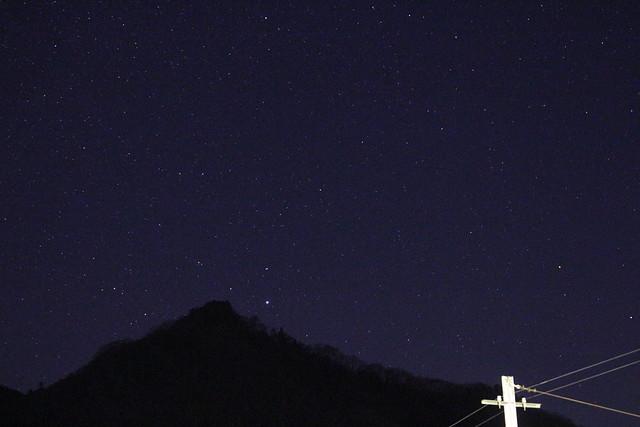 1/18(土)25(土)三峰口駅天体観望会