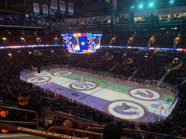 NHL- Vancouver Canucks vs Edmonton Oilers, Vancouver, BC. Canada