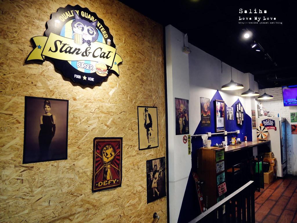 台北西門町可帶寵物餐廳Stan Cat史丹貓美式料理好吃漢堡早午餐 (3)