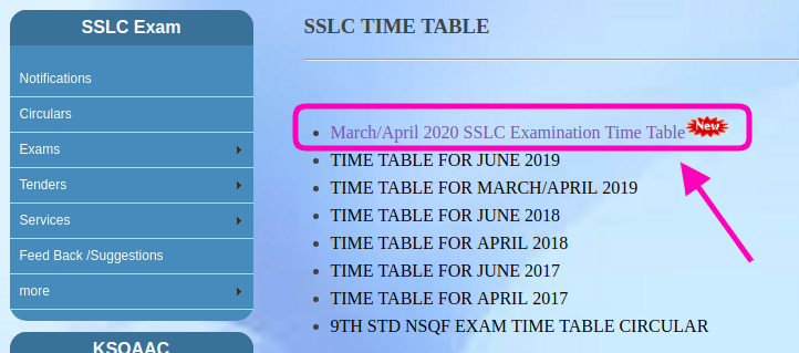 Karnataka SSLC Time Table 2020 | KSEEB SSLC Supplementary New Exam Date Available!